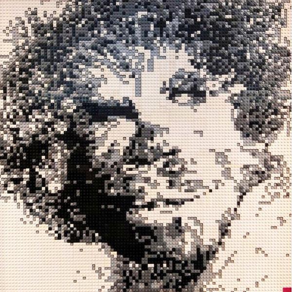 L'autoportrait aux yeux de Wookie - Brikx